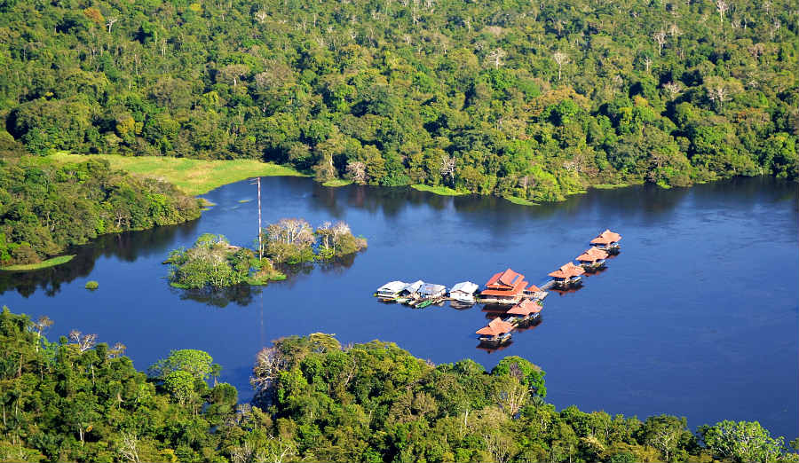 The Mamirauá Sustainable Development Reserve is an area of environmental conservation. The reserve is located between the municipalities of Maraã, Uarini, Fonte Boa, Alvarães, Jutaí and Tefé, and it is in Tefé that the headquarters of the reserve are located, managed by the Government of Amazonas. The Mamirauá Reserve exists to maintain the preservation of the forest area and the riverside and indigenous communities that inhabit this region.
