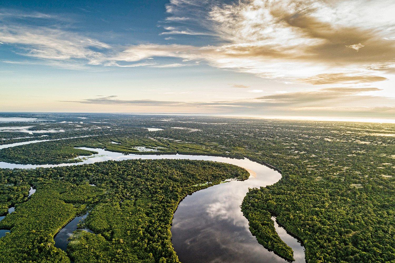 Manaus 351 anos: O Brasil abriga a maior floresta tropical do planeta que é a Floresta Amazônica. Ela faz parte do bioma Amazônia, o maior dos seis biomas brasileiros, correspondente a 53% das florestas tropicais ainda existentes. Essa floresta abriga uma enorme biodiversidade em fauna e flora, e a sua proteção é essencial para o Mundo.