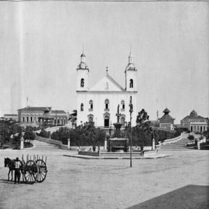 In the historical context the Cathedral underwent several changes in its construction. The Parish was created in 1695, however, the Cathedral was only built in 1786, and in 1850 it suffered a fire. Just five years later, general construction began. The Church was inaugurated and blessed in 1878, 23 years after that fire.