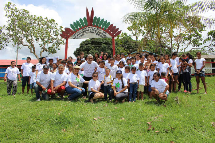 In it there is a development of work with the riverside communities to care for and preserve the biodiversity existing in the rural area of Manaus.