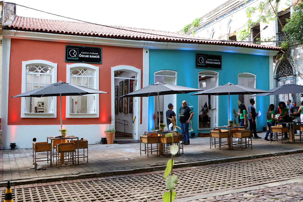 Tourist Attractions in Manaus: recently inaugurated, the Óscar Ramos Cultural Center bears the name of one of the main Amazonian artists.