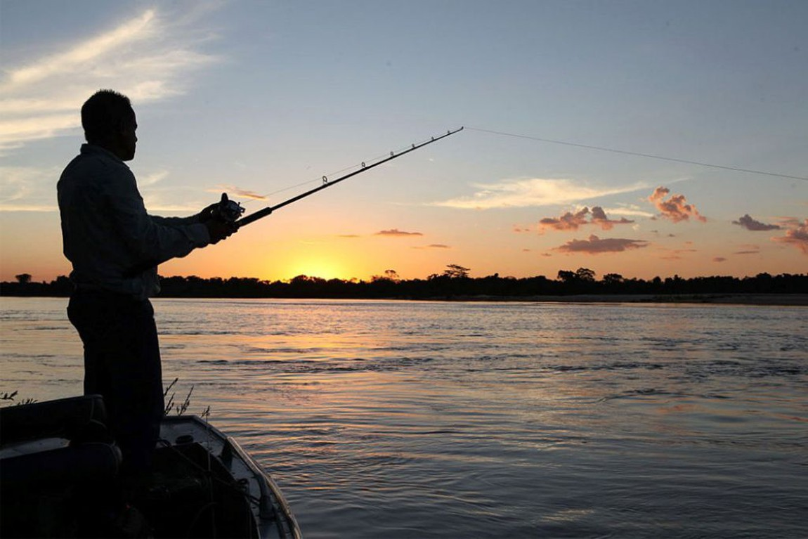 The state of Mato Grosso do Sul is also one of the most explored sports fishing. One of the main places for sport fishing is the Paraná River basin where you can also find the king considered for sport fishing, the Tucunaré-Açu.