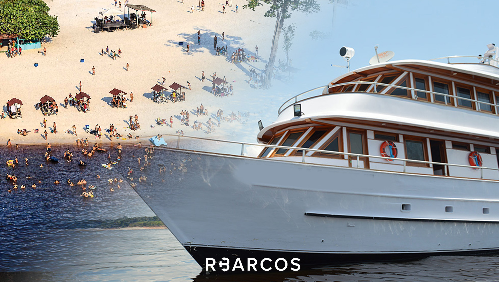 From the city of Manaus you can board a Yacht for daily nautical tours, or for a long period of time.