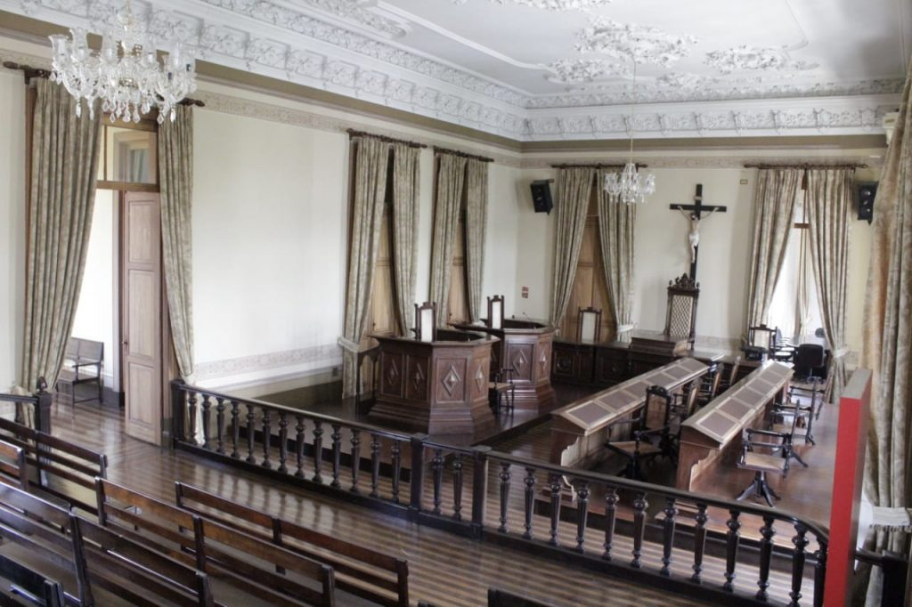 Tourist Attractions in Manaus: In the Cultural Center there is the Crime Museum room, where the most famous crimes of the city of Manaus are shown, the Jury's Court rooms and the Full Court Room.
