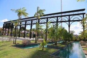 Pórtico de Entrada - Parque Jeferson Peres, parques e praças em manaus